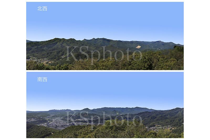 札幌市藻岩山展望台からの景色