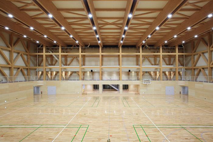 黒松内体育館
